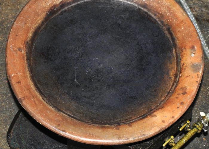 Tajine kesra en argile terre cuite accessoire d lices du jour - Tajine en terre cuite ...
