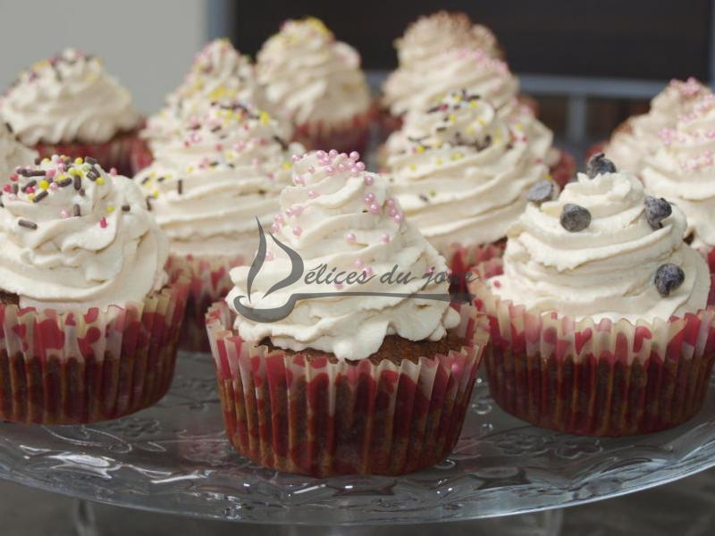 Cupcakes chocolat café