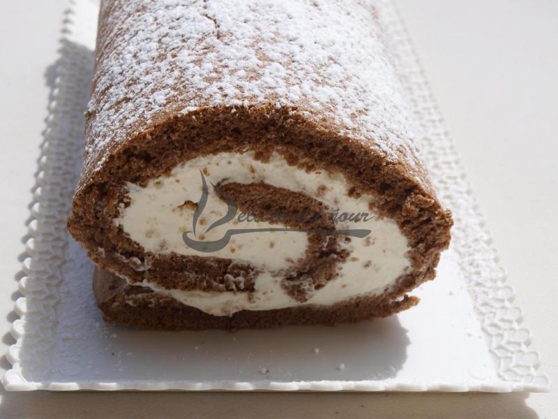 roul 233 chocolat et mascarpone dessert d 233 lices du jour