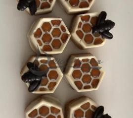 Sablé ruche et son abeille