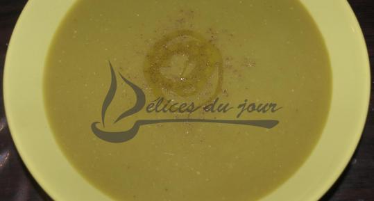 Bissara ou soupe aux pois cassés