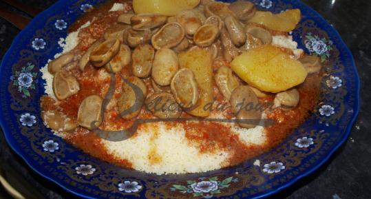 Couscous aux fèves