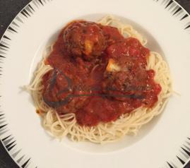 Boulettes viande hachée mozzarella