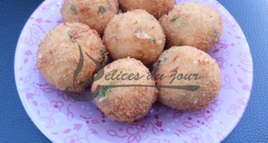 Croquettes pommes de terre mozzarella