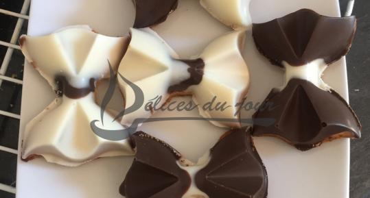 Noeud papillon chocolat